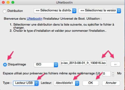 Tuto comment utiliser une clef Linux avec Clover  Unetbb10