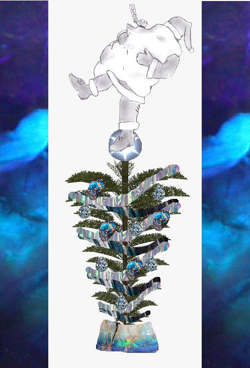 Decorate the Thread: Make A Christmas Tree! Santa_10