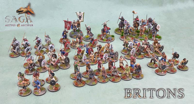 Britons pour Aetius & Arthur par Hobbyone Briton10