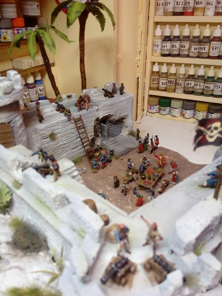 pirates des caraibes 1/72 eme 12910