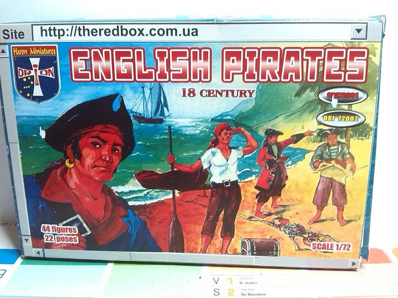 pirates des caraibes 1/72 eme 13910