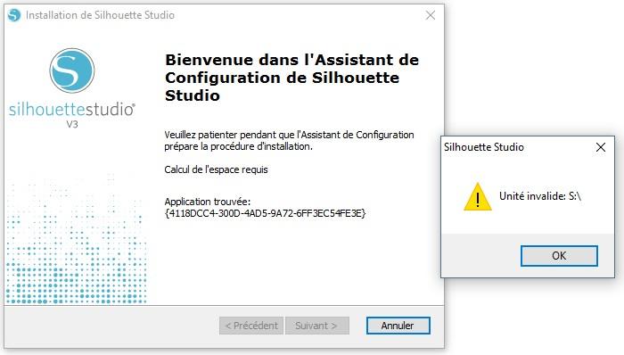 Erreur installation sst V3.8.118 2016-110