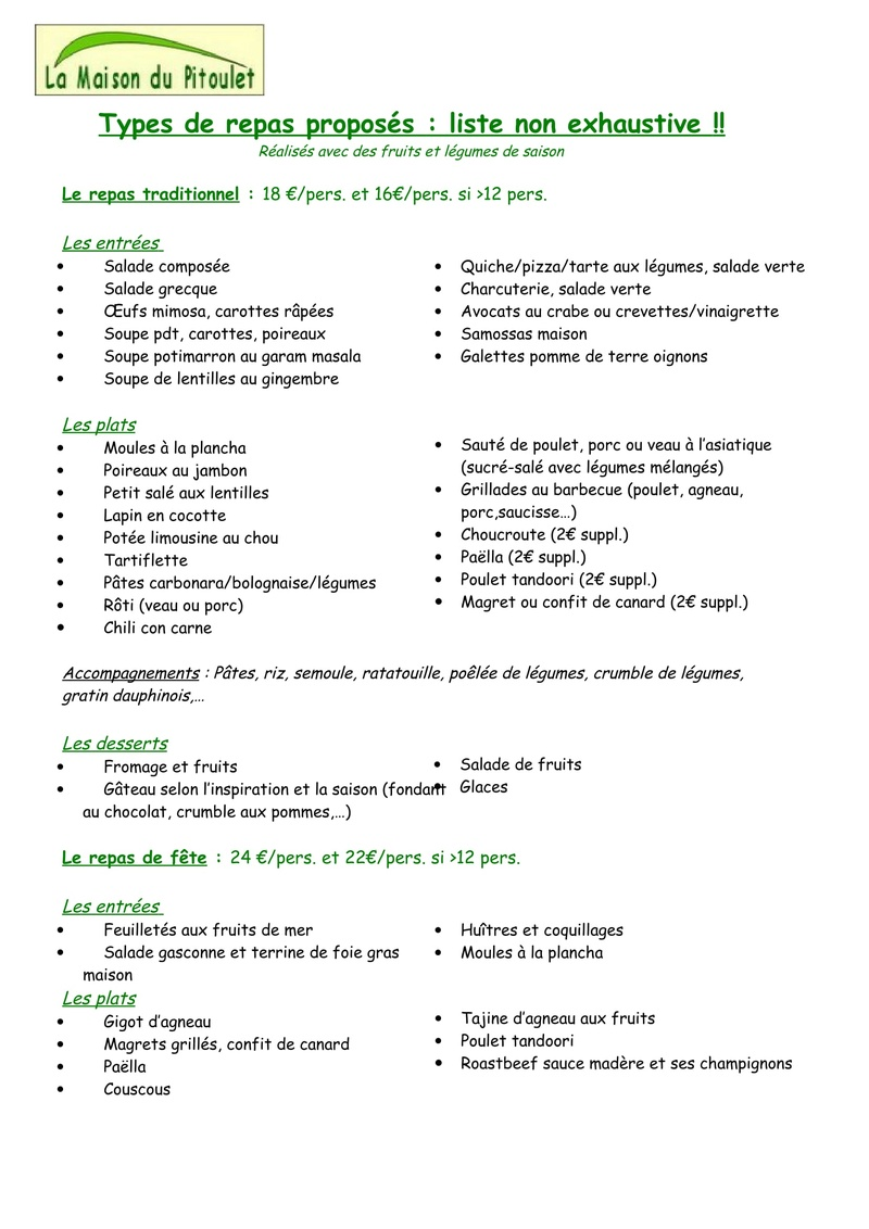 Les V2 SONT DANS LE GERS 2018 (2 ème édition) Menus-11