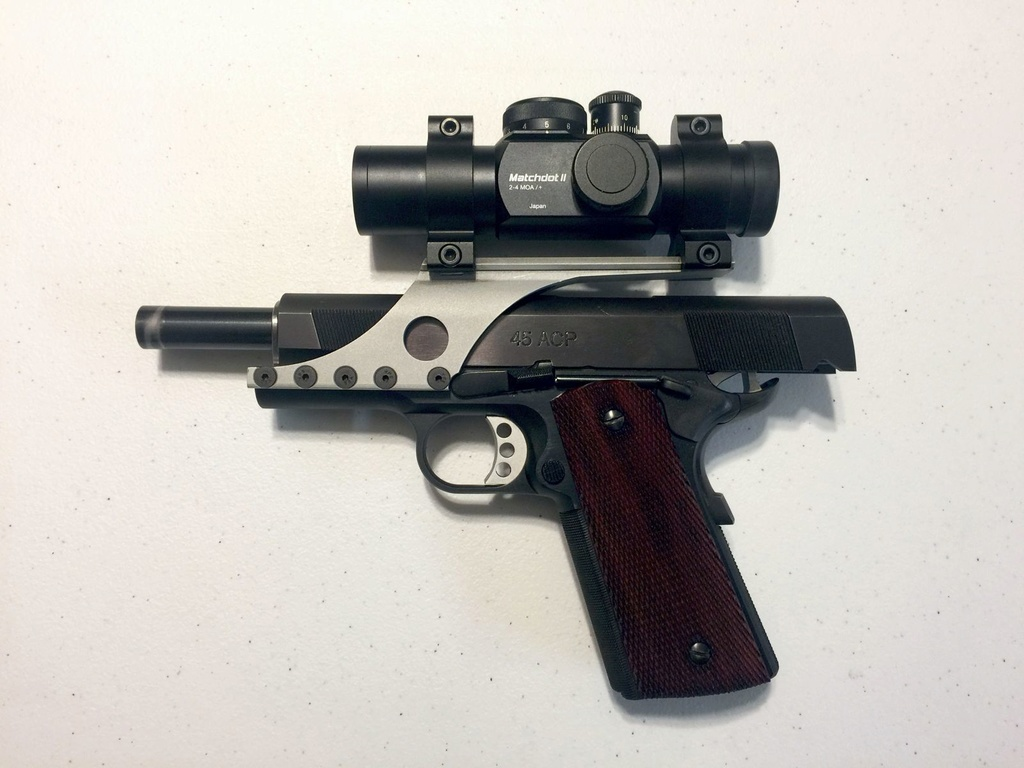 SOLD: Les Baer .45 Wad Gun Kit. Left_s16