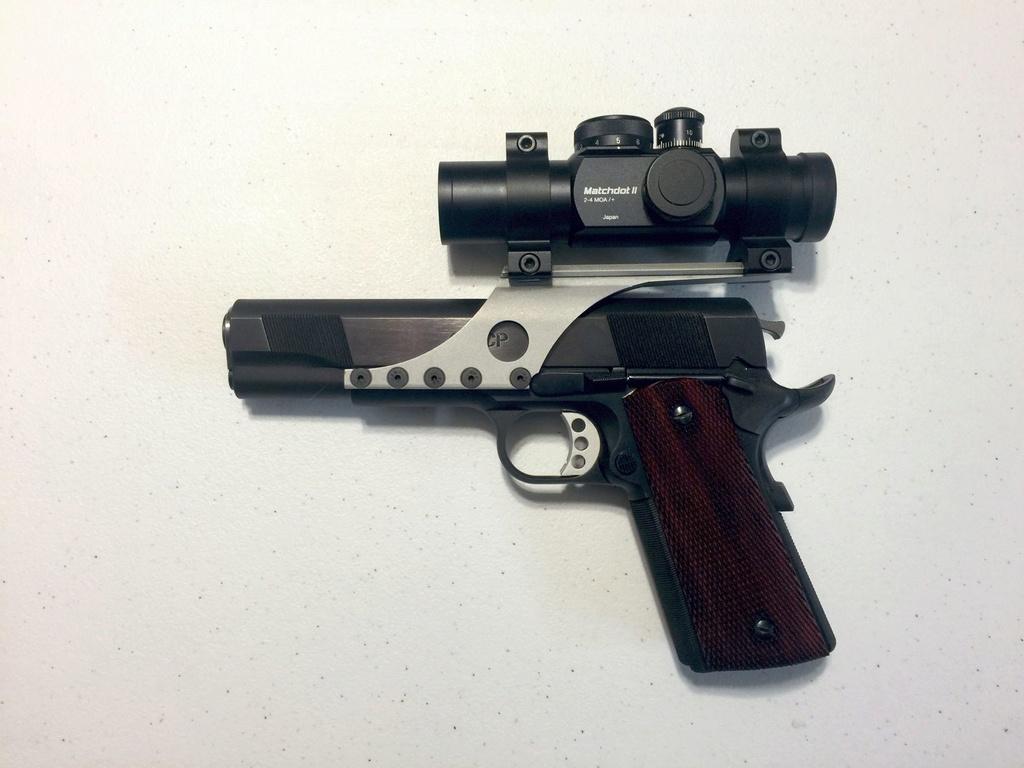 SOLD: Les Baer .45 Wad Gun Kit. Left_s17