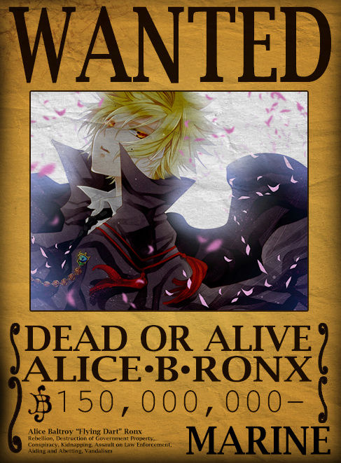 Wanted Poster Drawing Board Alice_10
