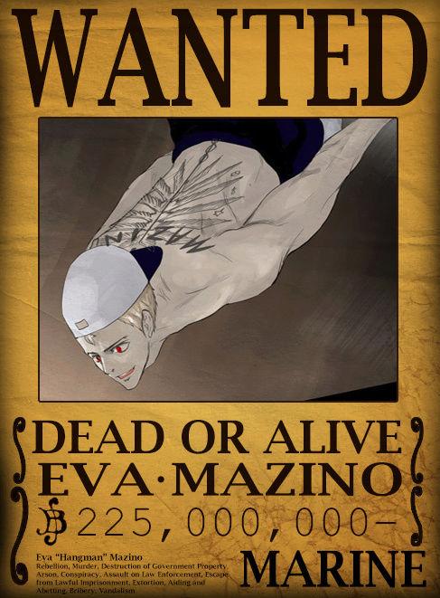 Wanted Poster Drawing Board Eva_ma10