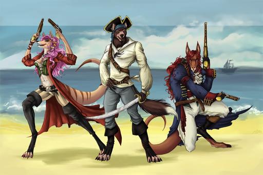 Feral Pirates (NPC) Fp710