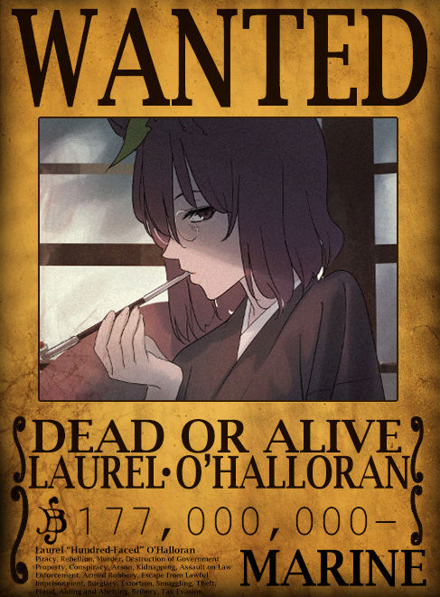 Wanted Poster Drawing Board Laurel10