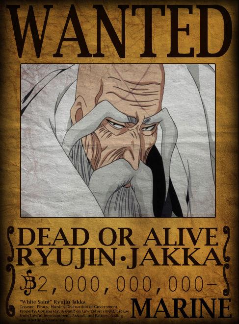 Wanted Board Ryujin10