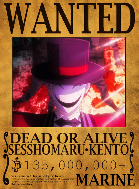 Wanted Poster Drawing Board Sessho10