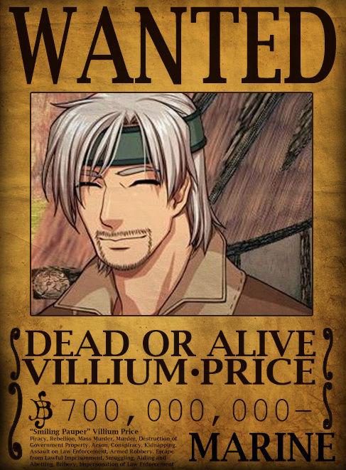 Wanted Board Villiu10