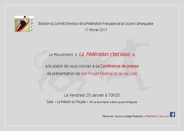 """Présentation du projet """" La fédération c'est vous """" Confer11"""