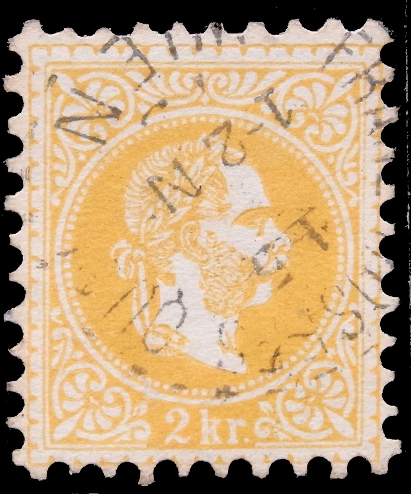 Freimarken-Ausgabe 1867 : Kopfbildnis Kaiser Franz Joseph I - Seite 15 002-an11