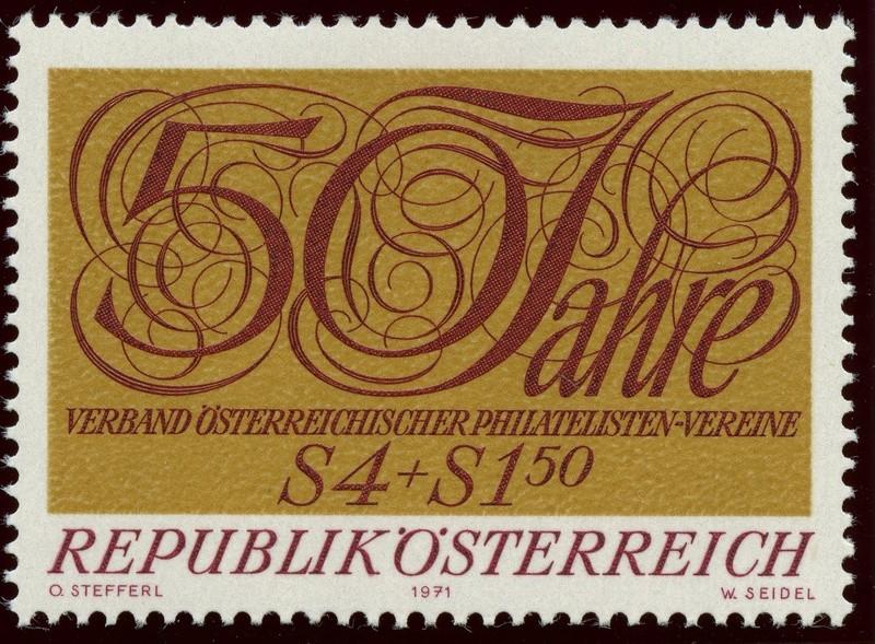 Briefmarken - Österreich, Briefmarken der Jahre 1970 - 1974 - Seite 2 Ank_1419