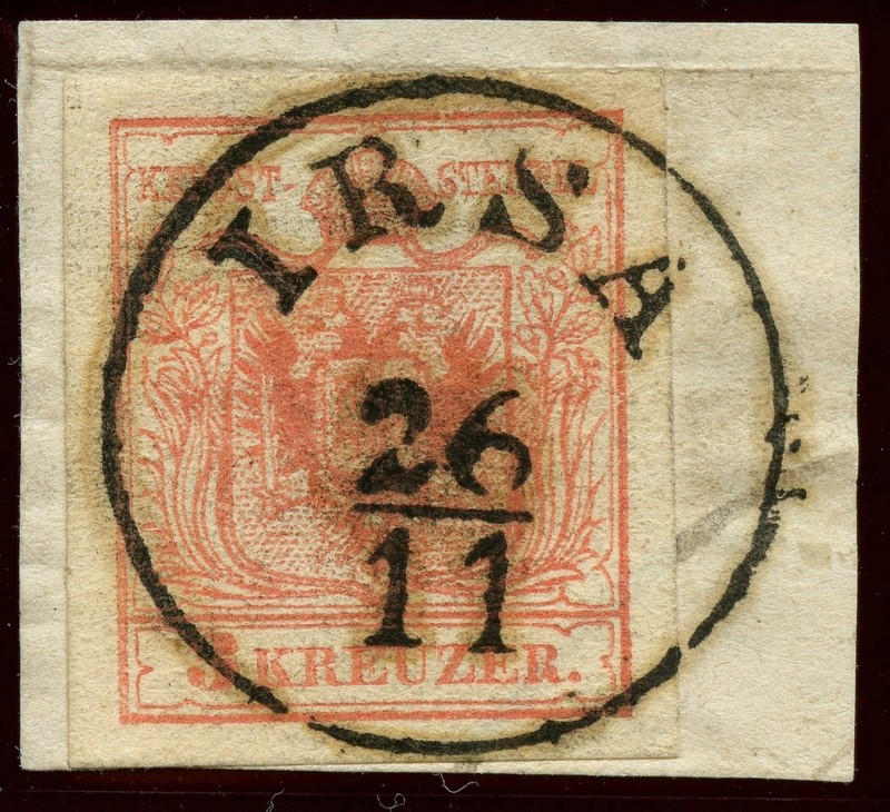 Die erste Österreichische Ausgabe 1850 - Seite 8 Ank_3_11