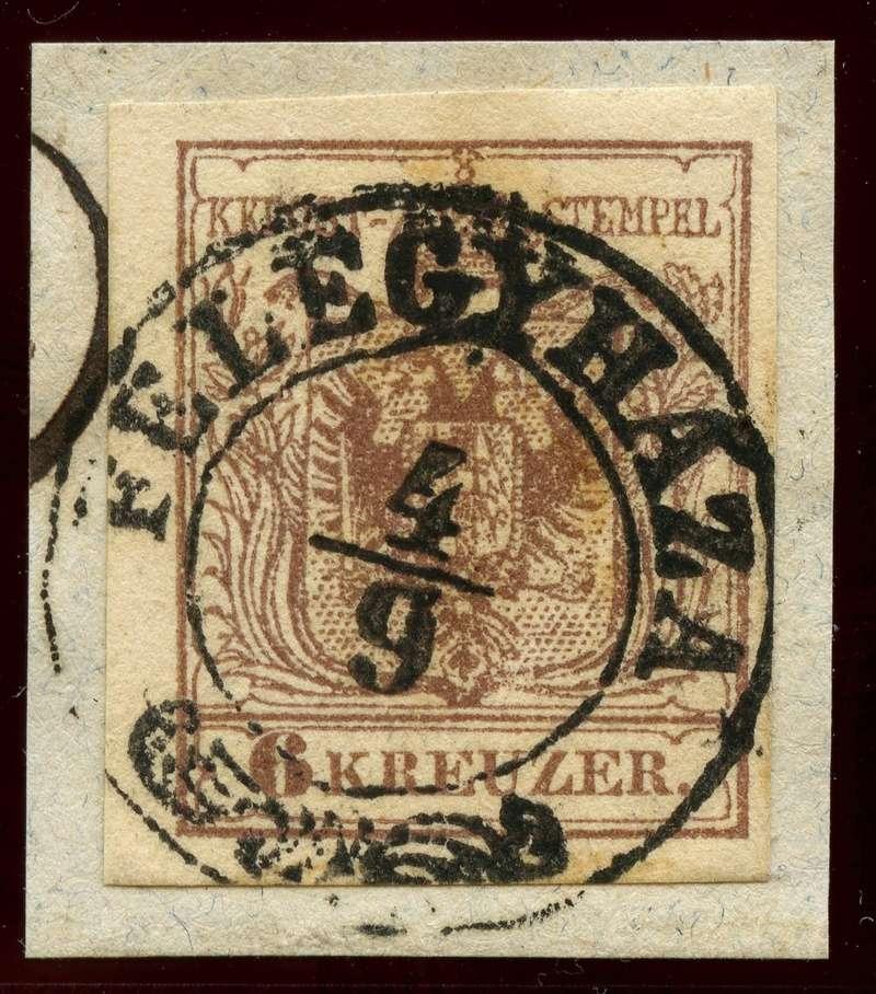 Die erste Österreichische Ausgabe 1850 - Seite 8 Ank_4_11