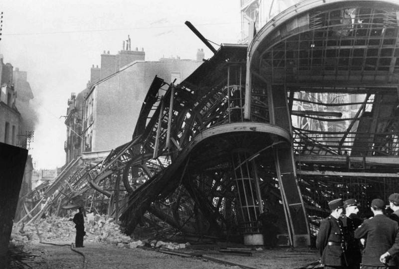 LES BOMBARDEMENTS DU 23 SEPTEMBRE 1943 - LE MAGASIN DECRÉ 1943-d11