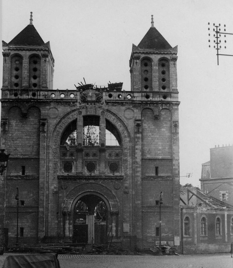 LES BOMBARDEMENTS DU 23 SEPTEMBRE 1943 - LE TEMPLE PROTESTANT Temple10