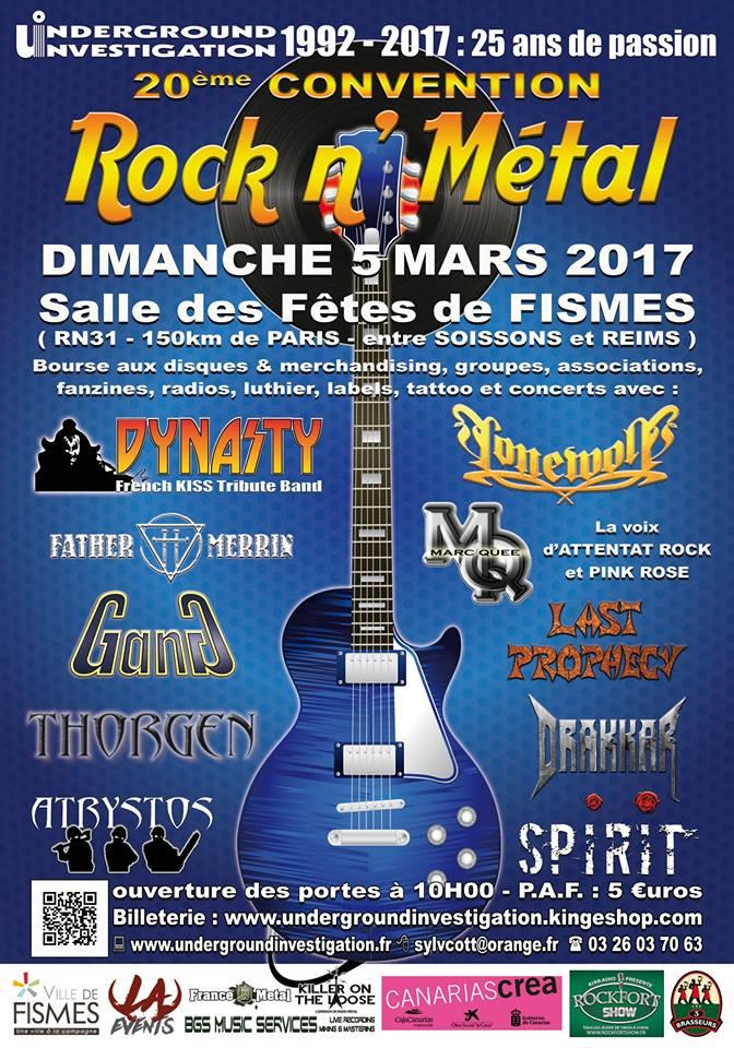 Le fanzine UNDERGROUND INVESTIGATION 14925412