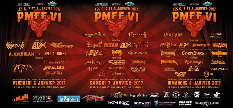 PMFF VI (JANV 2017) PARIS METAL FRANCE FESTIVAL VI 14939410