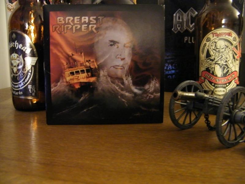"BREAST RIPPER EP ""Rainbow Warrior"" (2016) Heavy Metal BLOIS 15732110"