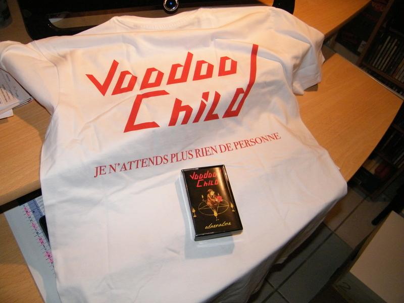 VOODOO CHILD en cassette audio chez LA DEFAITE par CHRISTOPHE BAILET ... Dscf4932