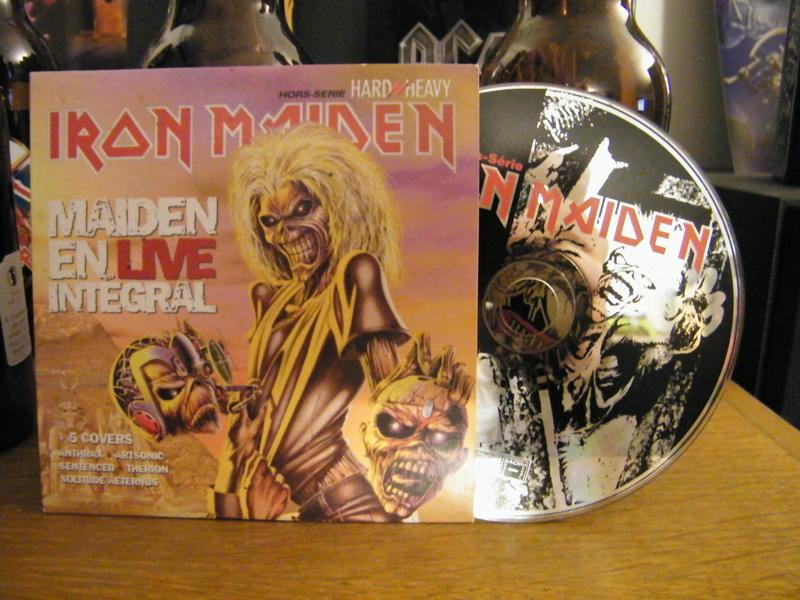 "sampler hors-serie ""hard/heavy""déc 1998 spécial iron maiden Dscf5215"