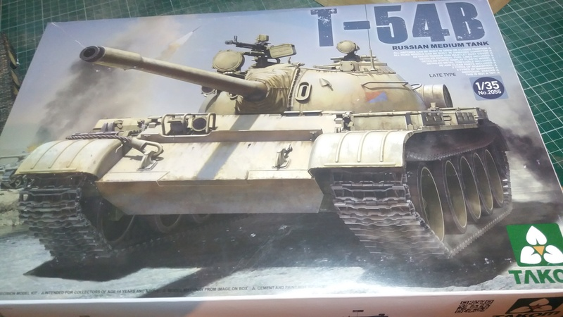 T-54B  Takom  1/35e 20161210