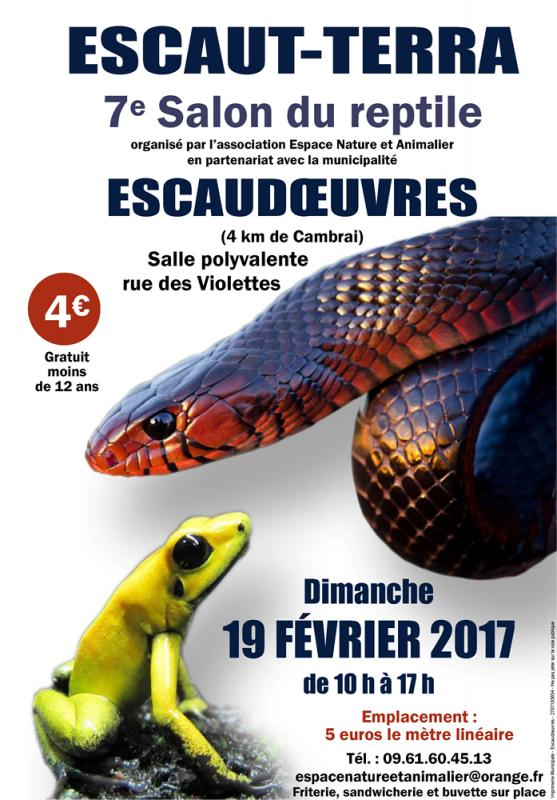 """7ème salon du reptile """"Escaut-Terra"""" - Escaudoeuvres le 19 février 2017 2017_011"""