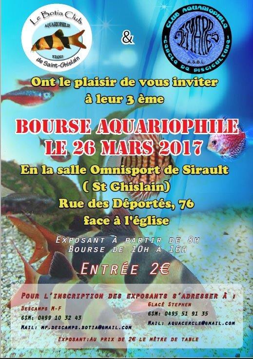 Bourse Botia club et Cercle de pisciculture - le 26 mars à Saint Ghislain 2017_017