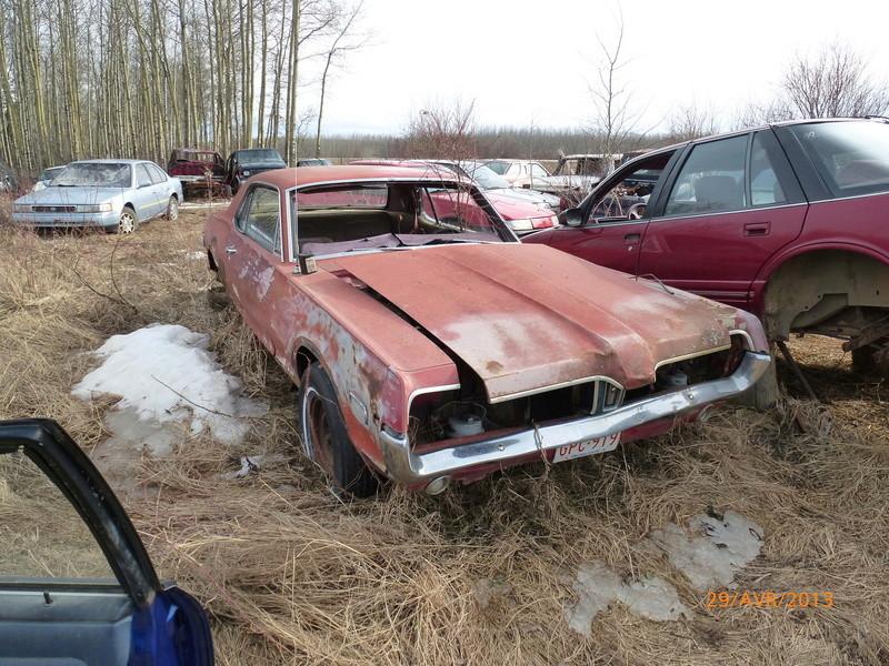 D'autre photos d'épave de Mustang 1967 1968 P1000410