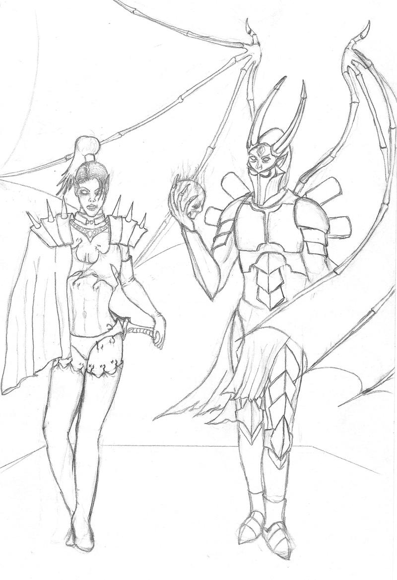 Drawing; The Duet Duet_010