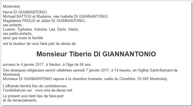 Décès de Tibério di Giannantonio Tiber_10