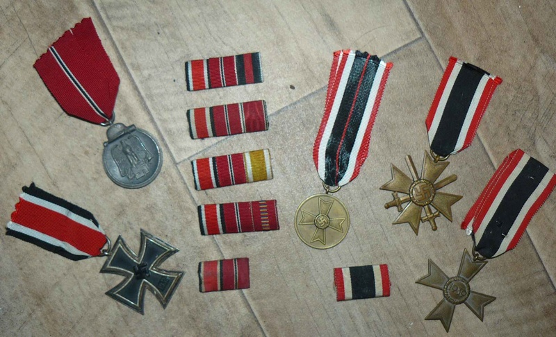 Vos barrettes & rappels de décorations - médailles Decos10
