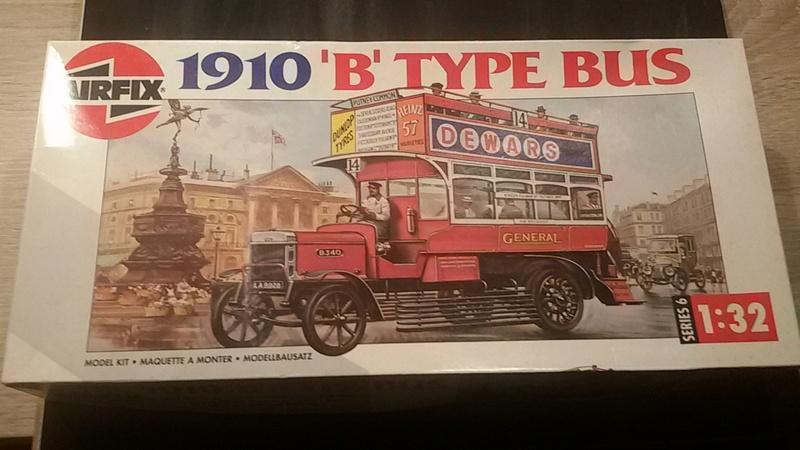 Londoner B Type Bus von 1910 in 1/32 von airfix 20161210