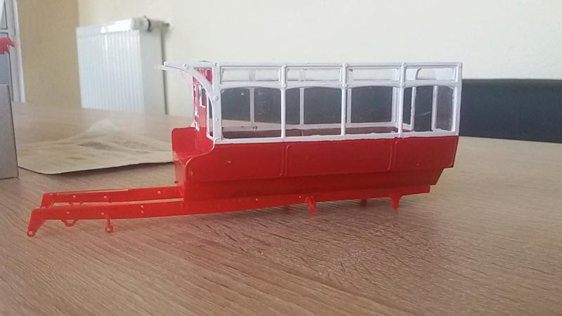 Londoner B Type Bus von 1910 in 1/32 von airfix 20161222