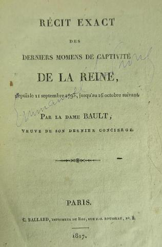 A vendre: livres sur Marie-Antoinette, ses proches et la Révolution - Page 5 12071110