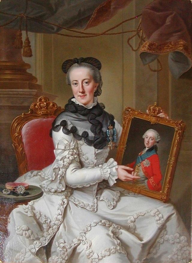 Vêtements de deuil au XVIIIe 1766ju11