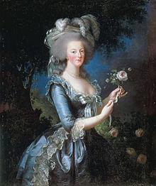 Portrait à la Rose d'Elisabeth Vigée Lebrun 220px-13