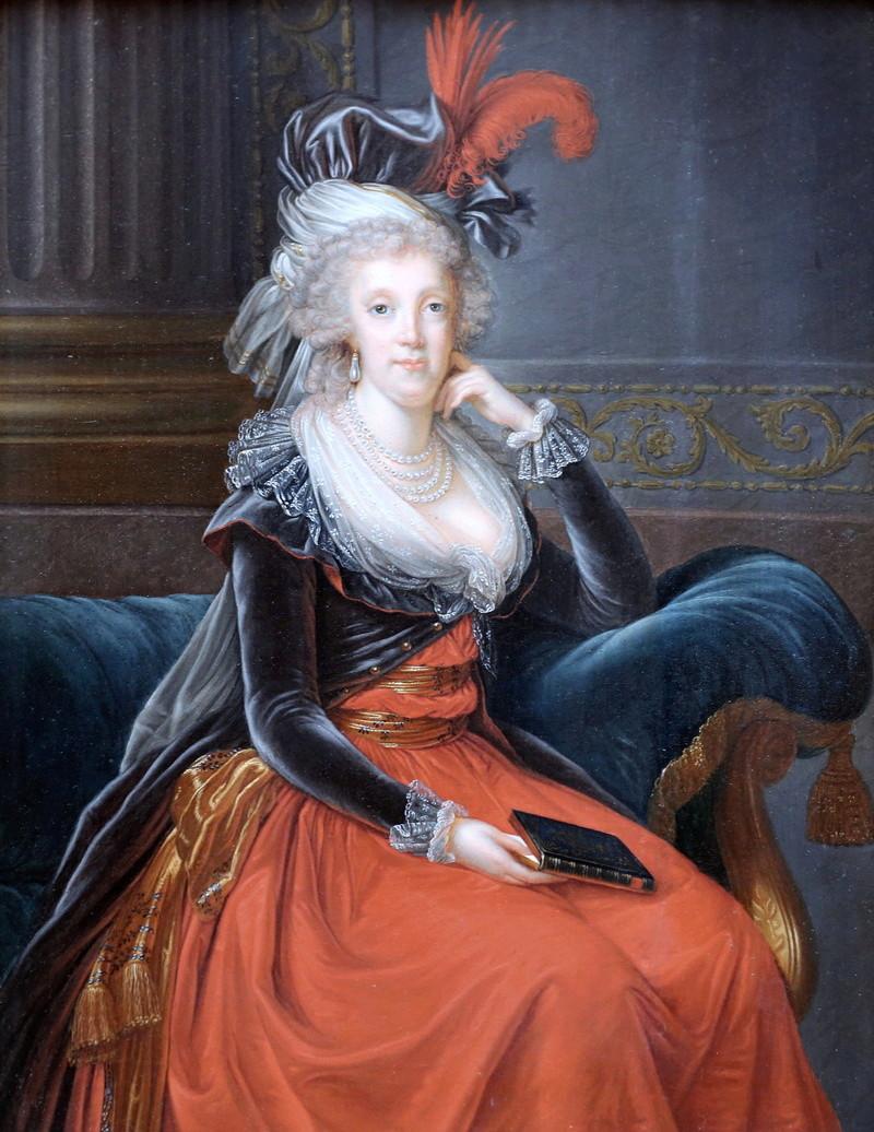 Portraits de Marie-Caroline, Reine de Naples, soeur de Marie-Antoinette Marie_10
