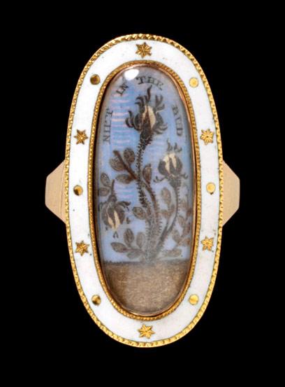 Vêtements de deuil au XVIIIe Mourni11