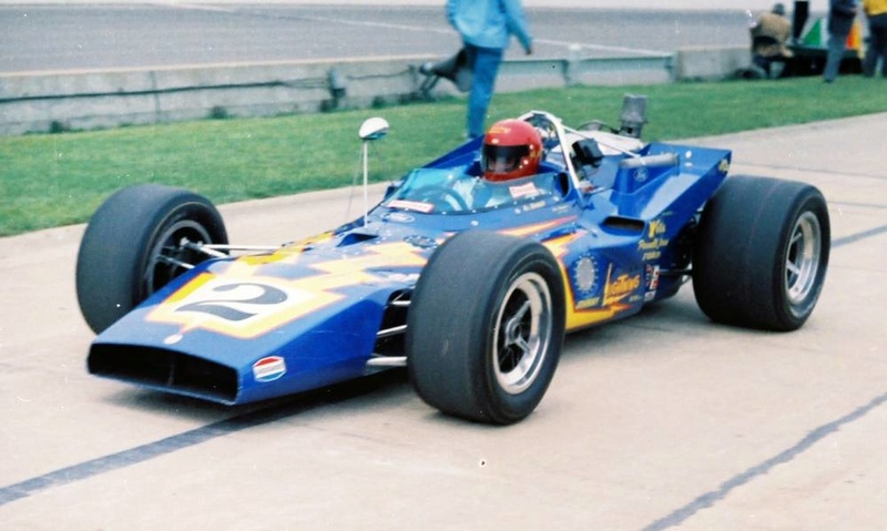 Parnelli Jones Colt Indianapolis 1970 Al Unser B3321610