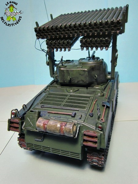 "M4A3 Sherman ""Calliope"" [1/35° de ITALERI] rajout de photos fini et dehors Img_5249"