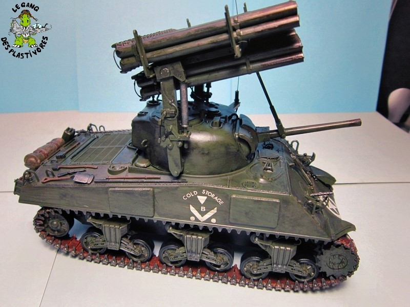 "M4A3 Sherman ""Calliope"" [1/35° de ITALERI] rajout de photos fini et dehors Img_5252"
