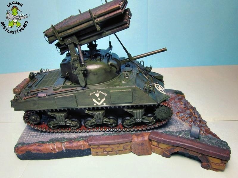 "M4A3 Sherman ""Calliope"" [1/35° de ITALERI] rajout de photos fini et dehors Img_5253"