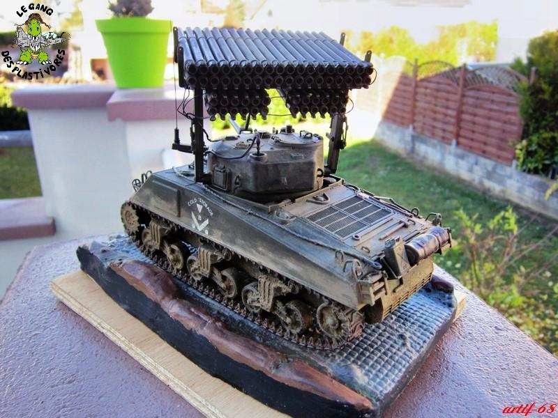 "M4A3 Sherman ""Calliope"" [1/35° de ITALERI] rajout de photos fini et dehors Img_5256"