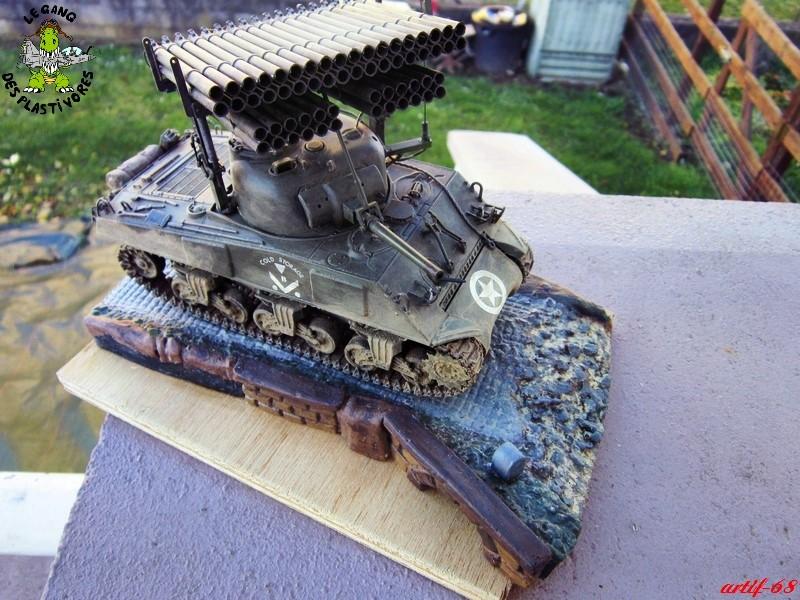 "M4A3 Sherman ""Calliope"" [1/35° de ITALERI] rajout de photos fini et dehors Img_5260"