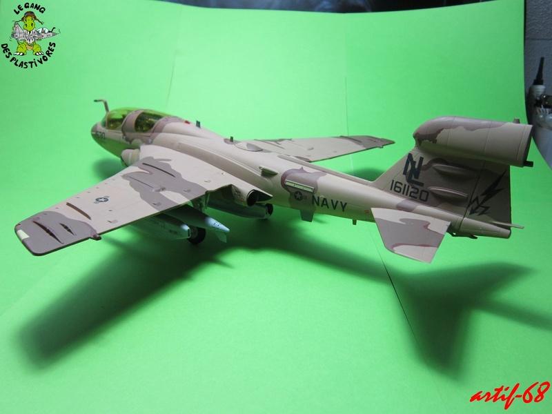 EA-6B Prowler [1/48° de ITALERI] Rajout de photos avec le A6 intruder Img_5410