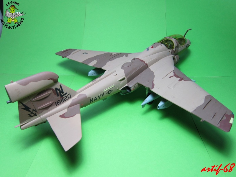 EA-6B Prowler [1/48° de ITALERI] Rajout de photos avec le A6 intruder Img_5411